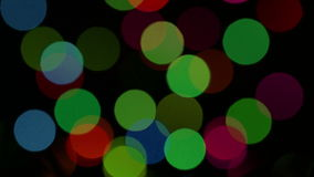 Υπόβαθρο με τη χρωματισμένη λάμψη φω'των. απόθεμα βίντεο