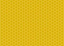 Υπόβαθρο με τις κηρήθρες, μέλισσα Στοκ Εικόνες