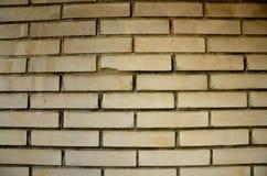 Υπόβαθρο με τον τοίχο των τούβλων Στοκ Φωτογραφίες