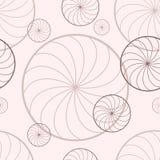 Υπόβαθρο με τους περιστρεφόμενους κύκλους διανυσματική απεικόνιση