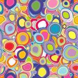 Υπόβαθρο με τους χρωματισμένους κύκλους απεικόνιση αποθεμάτων