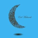 Υπόβαθρο με το αραβικό mandala διανυσματική απεικόνιση
