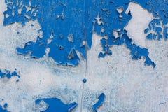 Υπόβαθρο με το παλαιό χρώμα αποφλοίωσης Στοκ Εικόνες