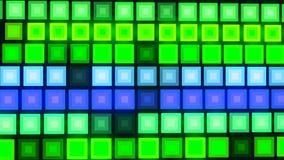 Υπόβαθρο με το συμπαθητικό sci FI leds απεικόνιση αποθεμάτων