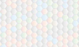 Υπόβαθρο με hexagons Στοκ φωτογραφίες με δικαίωμα ελεύθερης χρήσης