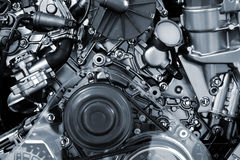 Υπόβαθρο μηχανών αυτοκινήτων Στοκ Εικόνες