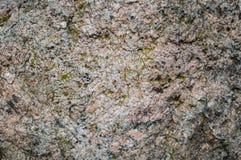 Υπόβαθρο μιας πέτρας που καλύπτεται με το βρύο Στοκ εικόνα με δικαίωμα ελεύθερης χρήσης