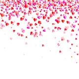 Υπόβαθρο μορφής καρδιών Στοκ φωτογραφία με δικαίωμα ελεύθερης χρήσης