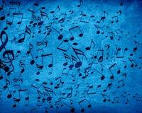 Υπόβαθρο μουσικής Στοκ Εικόνα
