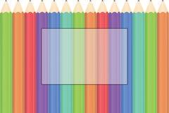 Υπόβαθρο μολυβιών Στοκ Φωτογραφίες