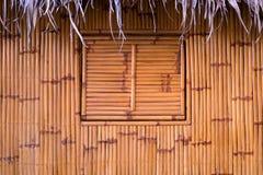 Υπόβαθρο μπαμπού και παραθύρων Στοκ εικόνα με δικαίωμα ελεύθερης χρήσης