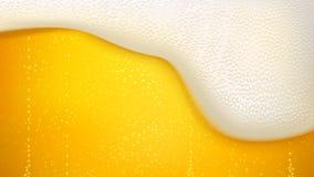 Υπόβαθρο μπύρας ξανθού γερμανικού ζύού Στοκ Εικόνα