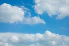 Υπόβαθρο μπλε ουρανού ουρανού Στοκ εικόνα με δικαίωμα ελεύθερης χρήσης