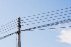 Υπόβαθρο μπλε ουρανού Πολωνών Στοκ εικόνα με δικαίωμα ελεύθερης χρήσης
