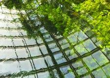 Υπόβαθρο νερού Στοκ φωτογραφία με δικαίωμα ελεύθερης χρήσης