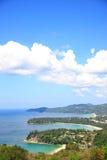 Υπόβαθρο νησιών Phuket Στοκ φωτογραφία με δικαίωμα ελεύθερης χρήσης