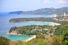 Υπόβαθρο νησιών Phuket Στοκ Εικόνα