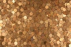 Υπόβαθρο νομισμάτων ένα στοκ εικόνα