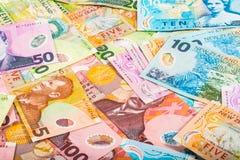 Υπόβαθρο λογαριασμών δολαρίων Στοκ εικόνες με δικαίωμα ελεύθερης χρήσης