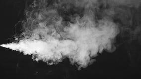 Επίδραση καπνού r Μηχανή καπνού απόθεμα βίντεο
