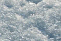 Υπόβαθρο δομών λεπτομέρειας χιονιού Στοκ Εικόνα