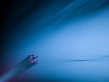 Υπόβαθρο οπτικών ινών Στοκ Φωτογραφίες