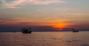 Υπόβαθρο ουρανού ηλιοβασιλέματος Στοκ Εικόνες