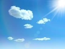 Υπόβαθρο ουρανού Στοκ φωτογραφία με δικαίωμα ελεύθερης χρήσης