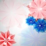 Υπόβαθρο λουλουδιών Στοκ Εικόνα