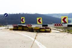 Υπόβαθρο οδικών επισκευών στοκ εικόνες με δικαίωμα ελεύθερης χρήσης