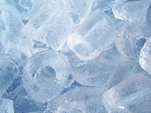 Υπόβαθρο πάγου σωλήνων Στοκ Φωτογραφία