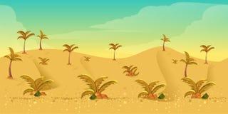 Υπόβαθρο παιχνιδιών ερήμων Στοκ εικόνες με δικαίωμα ελεύθερης χρήσης
