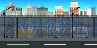 Υπόβαθρο παιχνιδιών πόλεων απεικόνιση αποθεμάτων