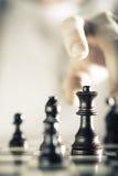 Υπόβαθρο παιχνιδιών σκακιού Στοκ φωτογραφία με δικαίωμα ελεύθερης χρήσης