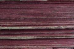Υπόβαθρο, παλαιό βιβλίο με τα κόκκινα φύλλα Στοκ εικόνα με δικαίωμα ελεύθερης χρήσης