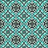 Υπόβαθρο παραδοσιακό περίκομψο πορτογαλικό Azulejos κεραμιδιών Στοκ Φωτογραφία