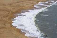 Υπόβαθρο παραλιών sand Στοκ Εικόνα