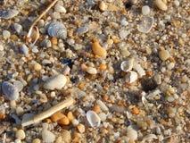 Υπόβαθρο παραλιών sand Στοκ Εικόνες