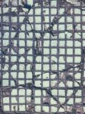 Υπόβαθρο πατωμάτων τούβλου τσιμέντου πλακών επίστρωσης Στοκ Εικόνα