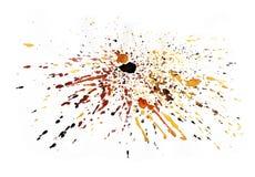 Υπόβαθρο παφλασμών Watercolor Στοκ εικόνα με δικαίωμα ελεύθερης χρήσης