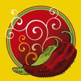 Υπόβαθρο πιπεριών Στοκ εικόνες με δικαίωμα ελεύθερης χρήσης