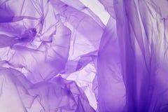 Υπόβαθρο πλαστικών τσαντών Σχεδιασμένη grunge πορφυρή σύσταση, υπόβαθρο Οι αφηρημένοι τόνοι αντιγράφουν το διαστημικό πρότυπο Ιώδ στοκ φωτογραφίες με δικαίωμα ελεύθερης χρήσης