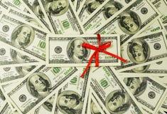 Υπόβαθρο πολλών τραπεζογραμματίων χρημάτων 100 δολάρια στοκ φωτογραφία με δικαίωμα ελεύθερης χρήσης