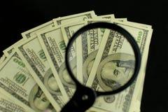 Υπόβαθρο πολλών τραπεζογραμματίων χρημάτων 100 δολαρίων στοκ φωτογραφία με δικαίωμα ελεύθερης χρήσης