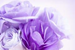 Υπόβαθρο πορφυρό Lisianthus λουλουδιών Στοκ Εικόνες