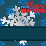 Υπόβαθρο που αποτελείται από χειμερινά snowflakes Στοκ εικόνες με δικαίωμα ελεύθερης χρήσης