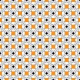 Υπόβαθρο που επαναλαμβάνει τις γεωμετρικές μορφές, τα κίτρινα τετράγωνα και το λεπτό λ Ελεύθερη απεικόνιση δικαιώματος