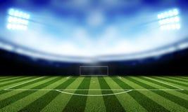 Υπόβαθρο ποδοσφαίρου Στοκ Εικόνα