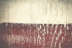 Υπόβαθρο πολυτέλειας της shabby χρωματισμένης ξύλινης σανίδας κόκκινο λευκό Στοκ Φωτογραφία