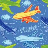 Υπόβαθρο πτήσης απεικόνιση αποθεμάτων
